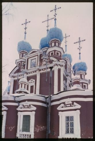 Church of the Kazan Icon of the Virgin (1694), east...