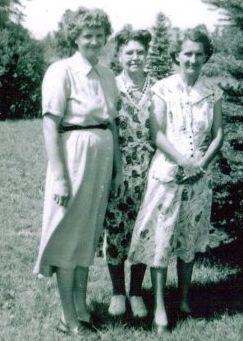 Edna , Lula,  & Nadine  McCray