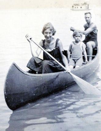 Arlene, Dorothy and Howard Van Buskirk