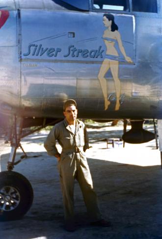 Lee Kirk and Silver Streak B25