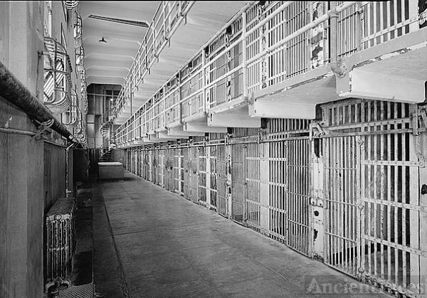 "Cell Block ""A"", Alcatraz Island"