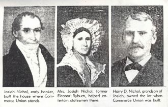 Josiah, Eleanor (Ryburn), & Harry Nichol, TN