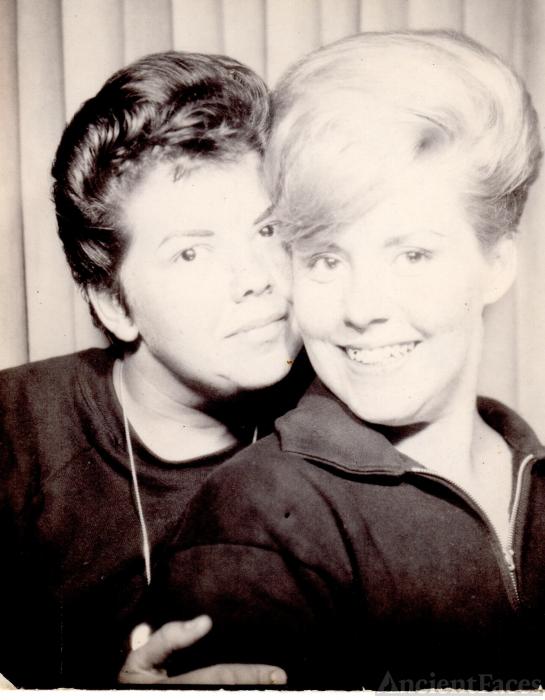 Sharon Ahlstrom and Mary Ryan