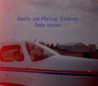 Joe Wegner's 1st Flying Lesson