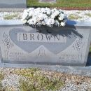 Geneva and Herbert Brown gravesite