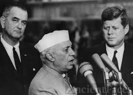Jawarharlal Nehru, JFK and LBJ