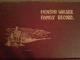 Emma (Walker) Munson Genealogy Record Cover