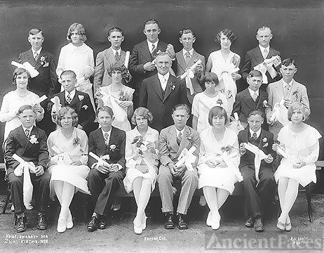 Zions-Kirche 1928 Confirmation Class