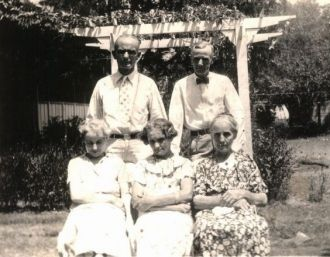 Mattie Wilkinson Fisher and siblings