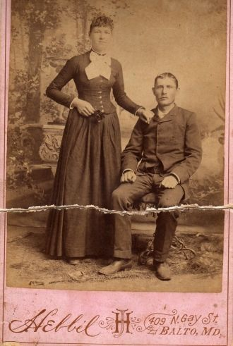 William & Ida (Carr) Wilkinson, 1899 MD
