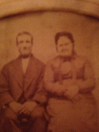 Unknown Mason couple