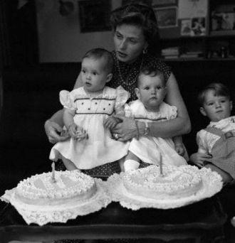 Ingrid Bergman Family