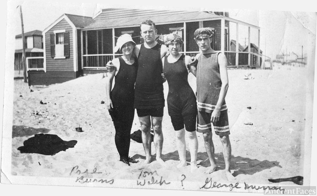 George Daniel Murray and friends