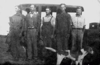 Cantrell Brothers abt 1935