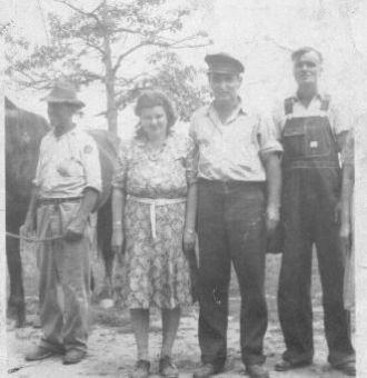 Joe Davis, Leota & Fred McCall & Luther Johnson
