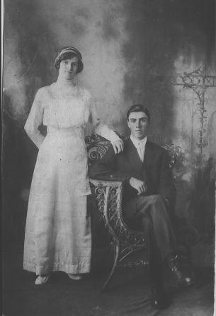 Ed and Bessie Johnson's Wedding