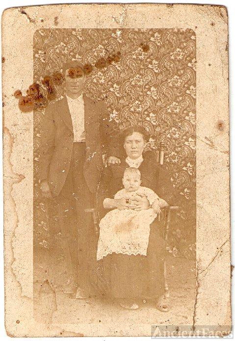 Grandpa and grandma Stanton and my Daddy