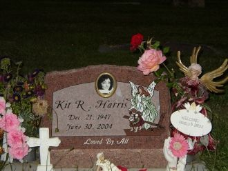 Kit R Harris gravesite