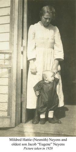 Mildred & Eugene Neyens, 1920