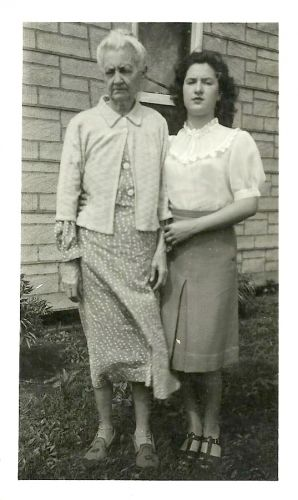 Eudora Vaughn & Betty Snyder