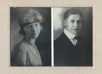 Dorothy Rude 1920, Harry E. Pratt 1919