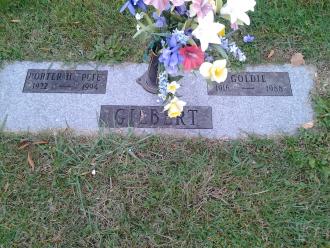 Grave of Goldie K. Gilbert
