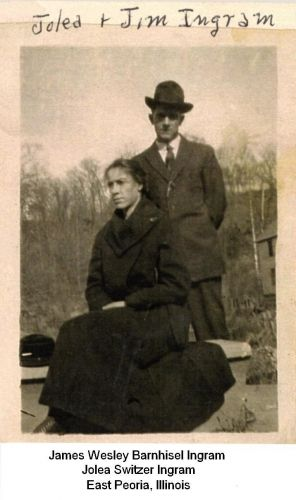 Jolea & James Ingram, 1919