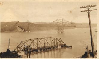 A Bridge Being Built