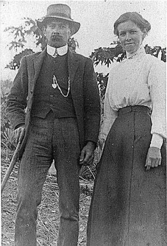 Harry Elmar Johnson & his wife Lily Newman