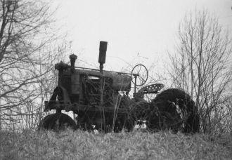 John Walker's old tractor