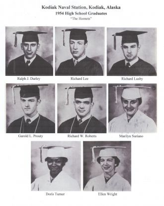1954 Kodiak Naval High School