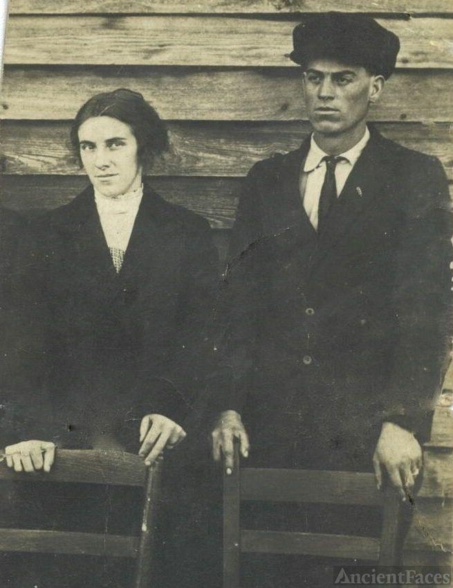 Riley Erwin Shelton and Dora M Edwards
