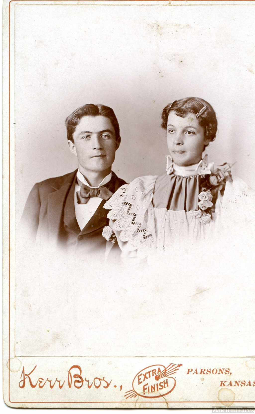 Granville Hacker & Minnie Cameron, Kansas