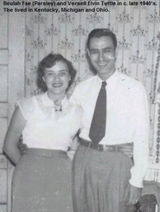 Beulah and Versell Tuttle