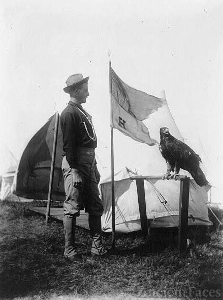 Eagle mascot, 1898