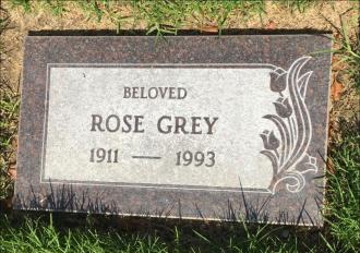 Rose Doudell Grey - Gravesite