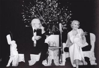 John Springer and Lana Turner.