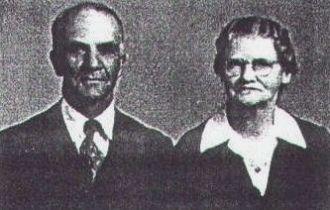 Robert Calhoun and Mary Jane (Collums) Thomas