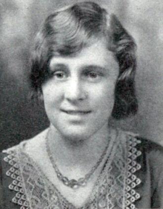 Doris Marjorie Chapman, Vermont, 1930