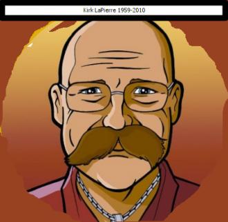 Drawing of Kirk Matthew Lapierre