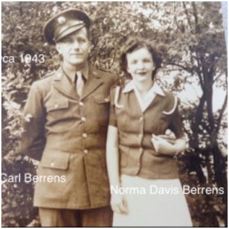 Carl and Norma (Davis) Berrens