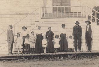 Hargis, Mackey, Chandler and Montgomery family
