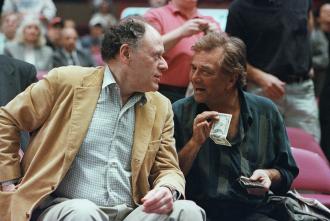 Peter Falk and Bob Dishy