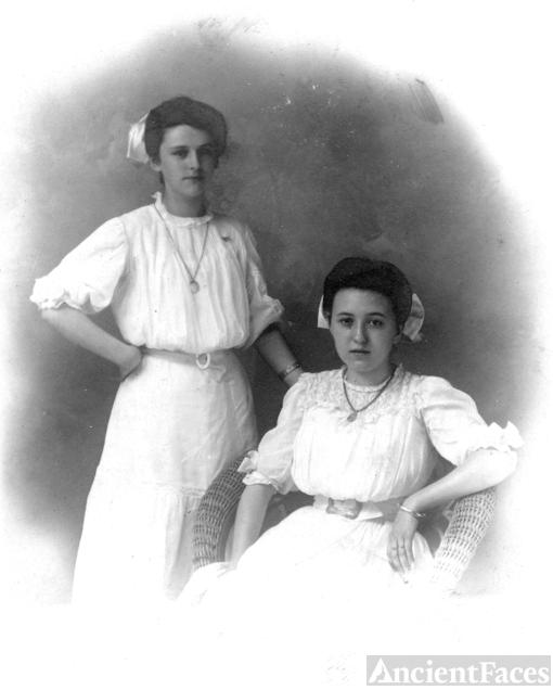 Elva Neff and Ruth Burke