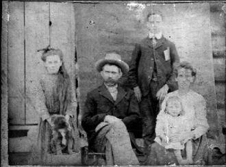 Rev. David Bowers and family