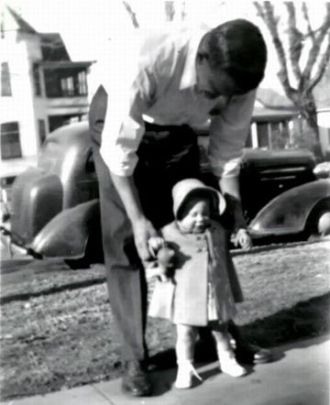 Bob and daughter Frances