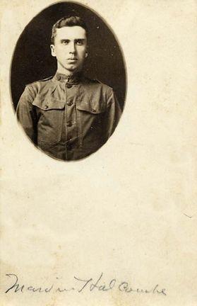 Marvin Holcombe World War I