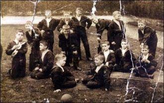 sailors orphanage circa 1905 or later liverpool uk