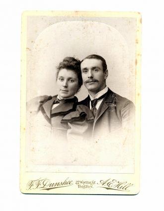 unknown Chisholm Couple, Boston
