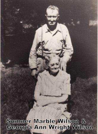 Sumner  & Georgia (Wright) Wilson